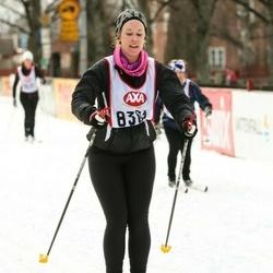 Skiing 45 km - Johan Ström (6361)
