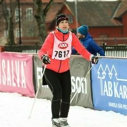 Skiing 45 km - Cecilia Mattsson (7617)