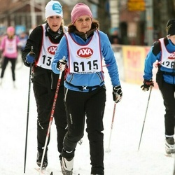 Skiing 45 km - Catherine Sallmander (6115)