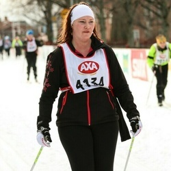 Skiing 45 km - Elin Karlsson (4134)