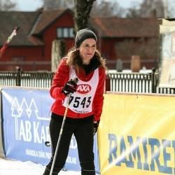 Skiing 45 km - Åsa Wanhainen (7543)