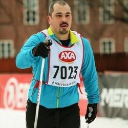 Skiing 45 km - Daniel Onishi (7023)