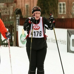 Skiing 45 km - Christine Tigerstrand (4176)