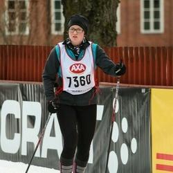 Skiing 45 km - Lina Karlsson (7360)
