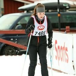Skiing 45 km - Alexandra Pärnebjörk (7460)