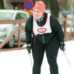 Skiing 45 km - Jenny Forsberg (5378)