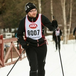 Skiing 45 km - Daniel Hessel (8007)