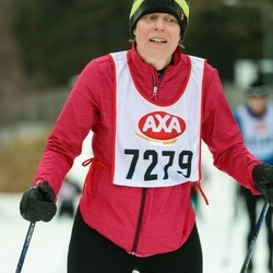 Skiing 45 km - Kristina Blomqvist (7279)