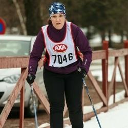 Skiing 45 km - Jeanette Svensson (7046)