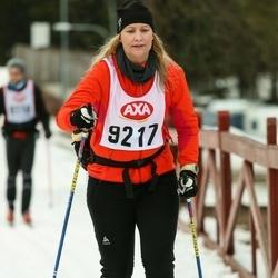 Skiing 45 km - Christine Andersson (9217)