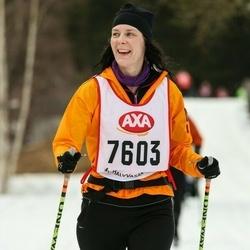 Skiing 45 km - Ingela Håkansson (7603)