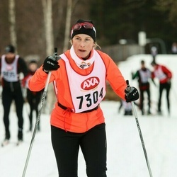Skiing 45 km - Carina Stenberg (7304)