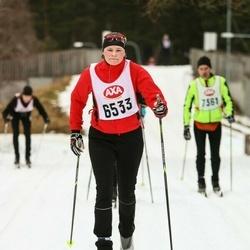 Skiing 45 km - Carolina Theen (6533)