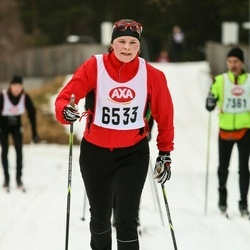 Skiing 45 km - Carolina Theen (6533)