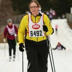 Skiing 45 km - Erika Thelander (6492)