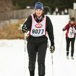 Skiing 45 km - Gabriella Wessman (8077)