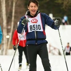 Skiing 45 km - Frederic Neefs (8590)