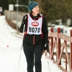 Skiing 45 km - Karin Mouillé (9070)