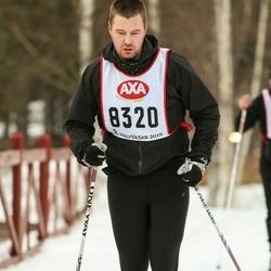 Skiing 45 km - Rickard Johansson (8320)