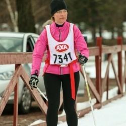 Skiing 45 km - Linda Andersson (7341)