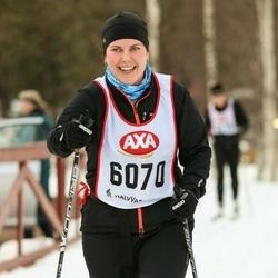 Skiing 45 km - Johanna Gunnarsson (6070)