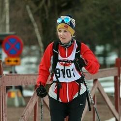 Skiing 45 km - Gina Nergård (9101)