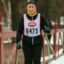Skiing 45 km - Irene Nyman (6473)