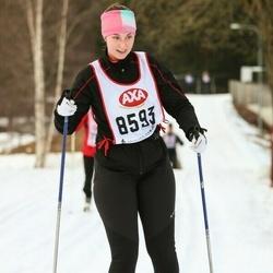 Skiing 45 km - Sara Fredriksson (8593)