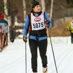 Skiing 45 km - Gunilla Björklund (5075)