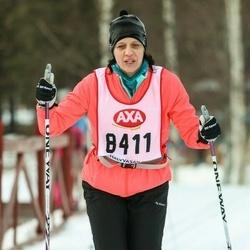 Skiing 45 km - Pernilla Karlsson (8411)