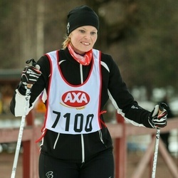 Skiing 45 km - Alexandra Ejenstam (7100)
