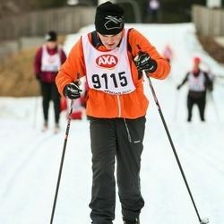 Skiing 45 km - Aleksander Pettersson (9115)