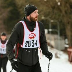 Skiing 45 km - Rickard Caster (9034)