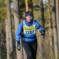 Skiing 90 km - Åsa Jernberg (12075)