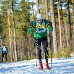 Skiing 90 km - Amund Lundqvist (5945)
