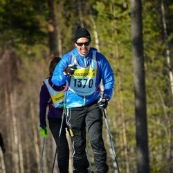 Skiing 90 km - Peder Bylund (13705)