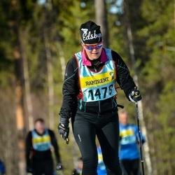 Skiing 90 km - Berit Godin Hansson (14795)