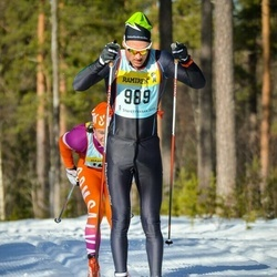 Skiing 90 km - Anders Solin (9895)