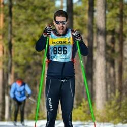 Skiing 90 km - Kalle Björkman (8965)