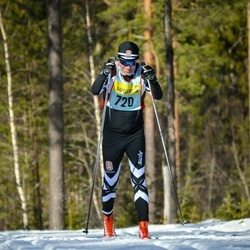 Skiing 90 km - Eirik Prestmo (7205)