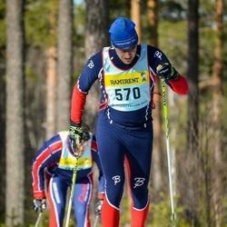 Skiing 90 km - Anders Hammer (5705)