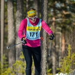 Skiing 90 km - Amy Rankka (1715)