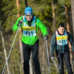 Skiing 90 km - Jens Emanuelsson (3315)