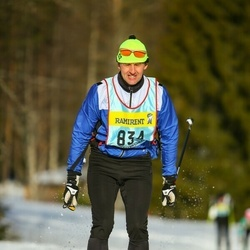Skiing 90 km - Mats Hall (8343)