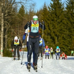 Skiing 90 km - Fredrik Hammar (3123)