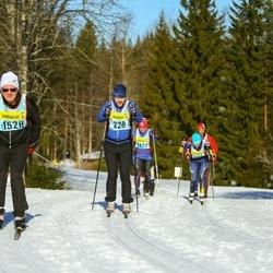Skiing 90 km - Tobias Person (2283), Holger Jonasson (15283)