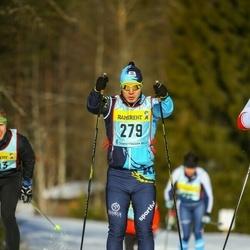 Skiing 90 km - Aibek Bashirov (2793)