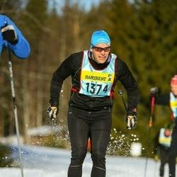 Skiing 90 km - Fredrik Oscarsson (13743)