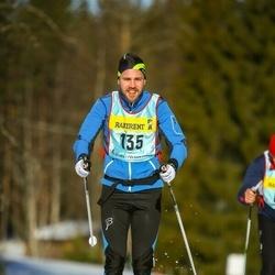 Skiing 90 km - Fredrik Hermelin (1353)