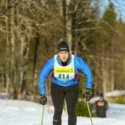 Skiing 90 km - Fredrik Kjellin (4143)
